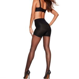 SPANX - All the Way Super Control Pantyhose Black